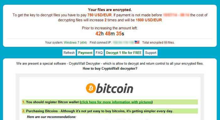 Cryptowall Ransomware