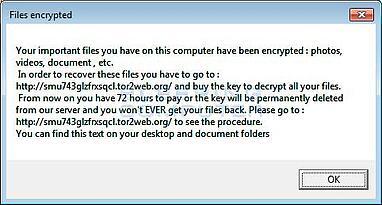OphionLocker Ransomware Alert