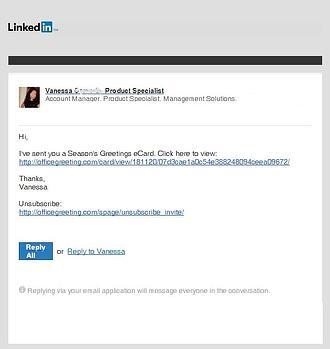 LinkedIn_Greeting_Card_Scam