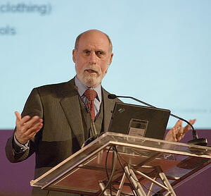 vint-cerf-google  - file 252609996 - The internet's 'father' says it was born with two big flaws