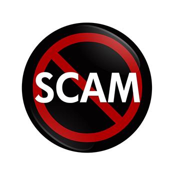 scam-button