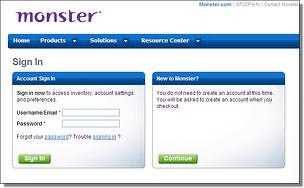 Gameover Zeus Malware on Monster