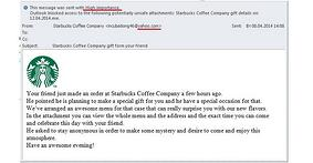 Starbucks Phishing Emails