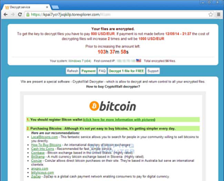Ransomware Note Screenshot