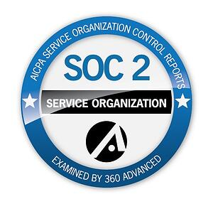 360 Advanced SOC 2 Seal of Completion  - 360 20Advanced 20SOC 202 20Seal 20of 20Completion - KnowBe4 is The ONLY simulated phishing and awareness training platform that is SOC2 Type 2 certified