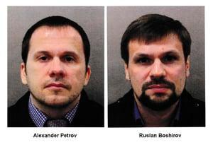 AP_18282305332603 - Alexander Mishkin, Anatoliy Chepiga, suspects in the Sergey Skripal nerve agent attack (Metropolitan Police via AP)