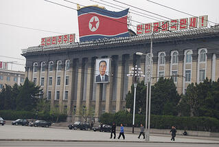 Central Square Pyongyang