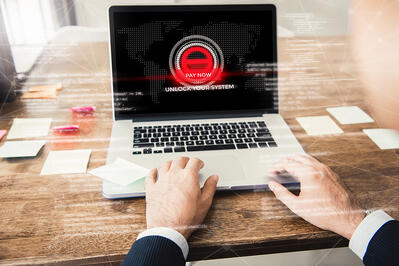 Double Organizations of Ransomware Attacks