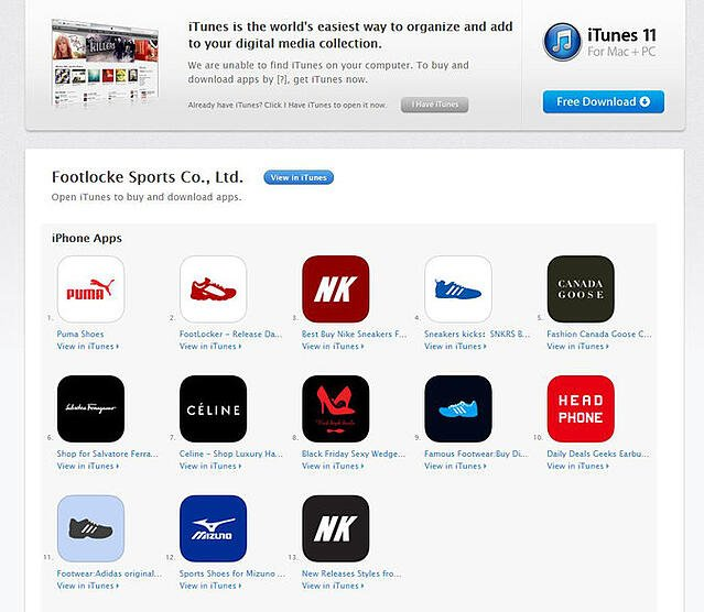 Fake Apps On AppStore