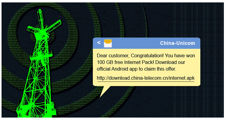 Chinese SMS Phishing Tower