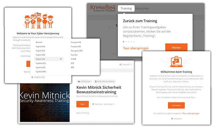 KnowBe4 Adds Language Localization to Learner's Experience