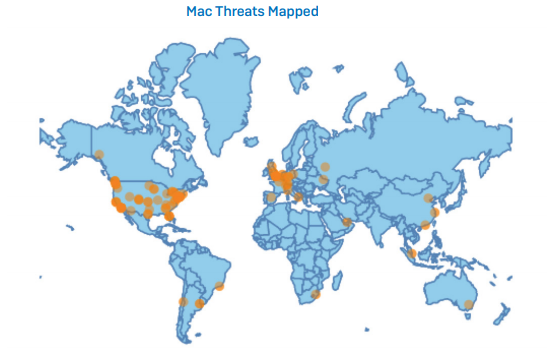 Cybersecurity Threat Map