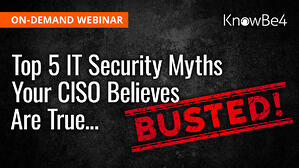 MythBusters IT Security Myths
