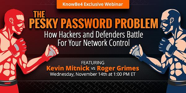 PeskyWebinar-Social  - PeskyWebinar Social - Battle of the Red and Blue Team featuring Kevin Mitnick [LIVE WEBINAR]