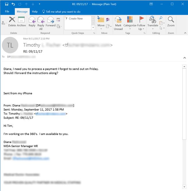 Phishing Response