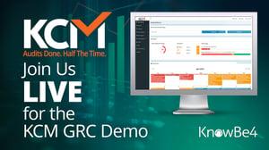 KCM GRC Live Demo KnowBe4