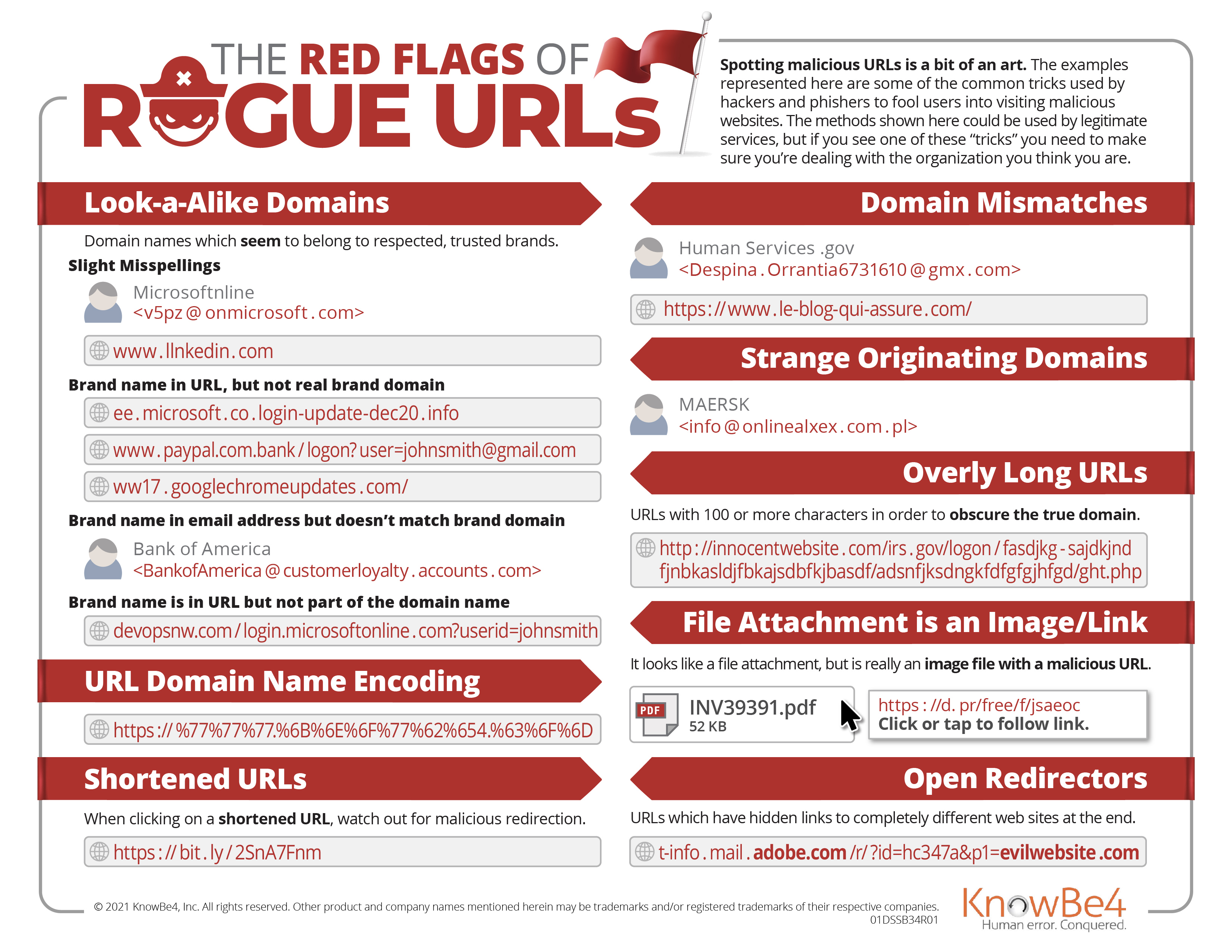 Red Flags of Rogue URLs