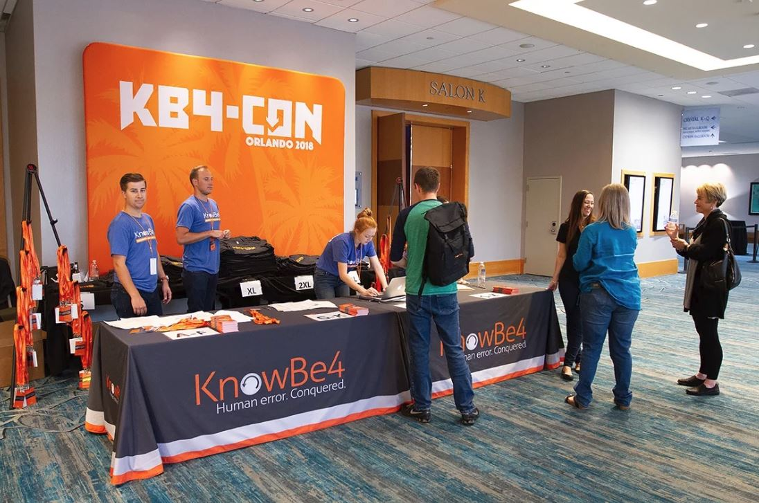 Registration  - Registration - The KnowBe4 User Conference Was A Blast! Here Are Some Quick Impressions