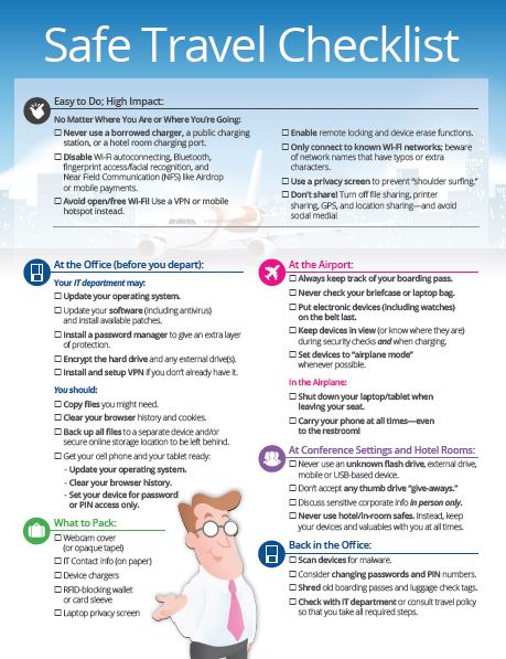 Safe_Travel_Checklist_Thumbnail  - Safe Travel Checklist Thumbnail - 500 Million Data Breach Is Phishing Heaven