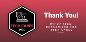 TrustRadius KnowBe4 Tech Cares Award