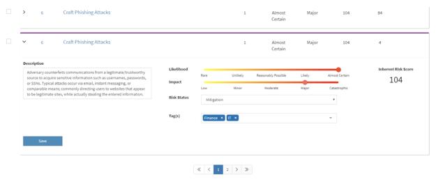 Compliance Security Screenshot