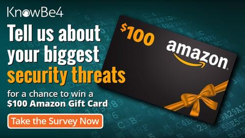 Security Threats - Amazon Card SOCIAL