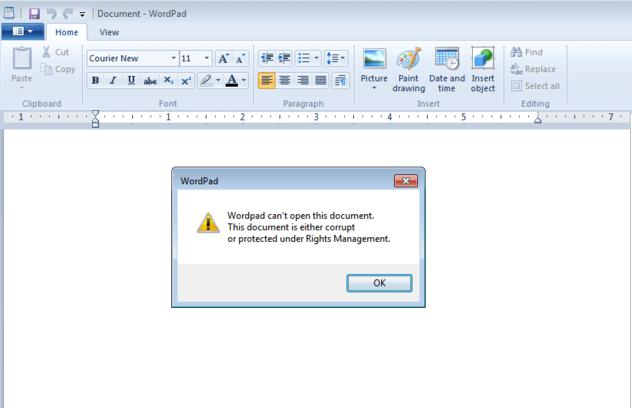 Spora Ransomware Word Doc Screenshot