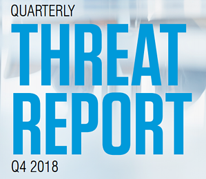 ThreatReport  - ThreatReport - Business Email Compromise, Credential Theft, and Many Other Attack Vectors Surged as High as 5x in Q4 2018