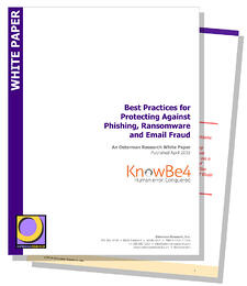 [NEW WHITEPAPER] 10 Best Practices for Protecting Against Phishing, Ransomware and Email Fraud