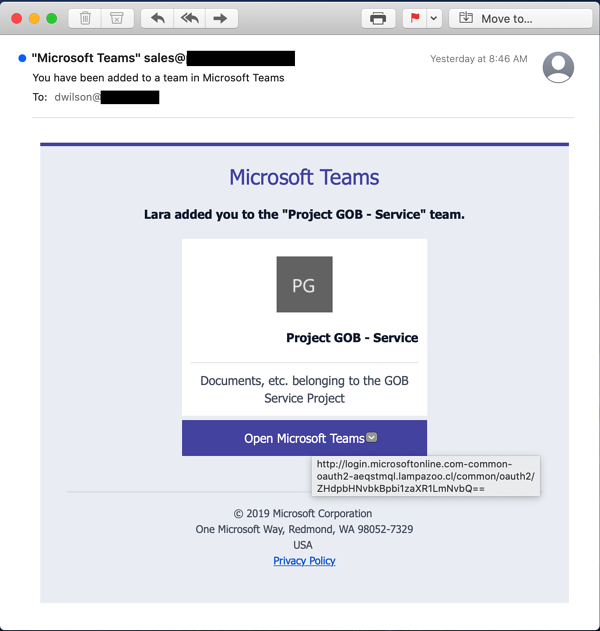 CyberSecurity-Phishing-Microsoft-Teams-Security-Awareness-Training