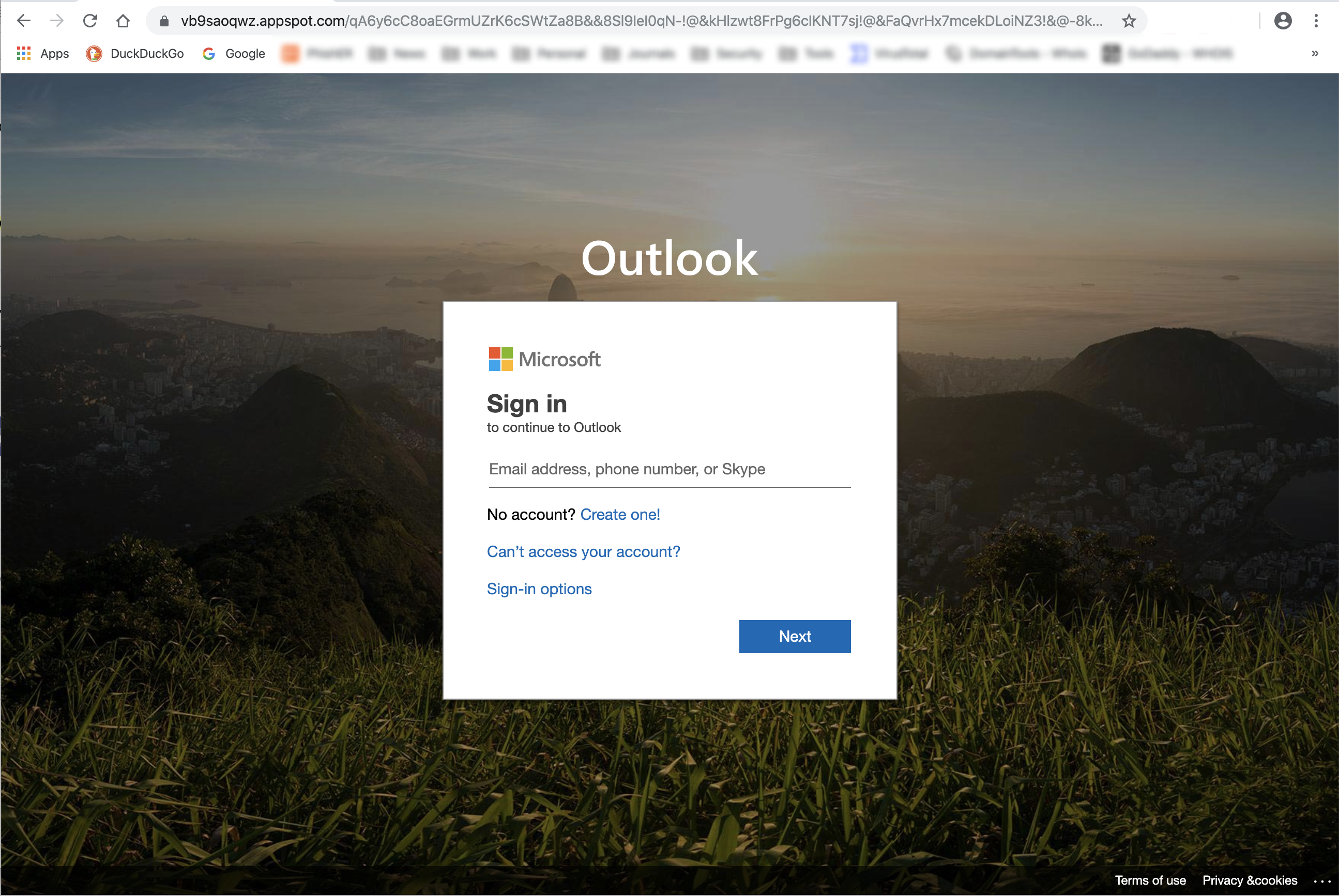 CyberSecurity-Phishing-Microsoft-Teams-Security-Awareness-Training-Spoofed-Website