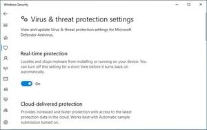 microsoft-defender-antivirus  - microsoft defender antivirus - Windows Defender Gets a New Name: Microsoft Defender