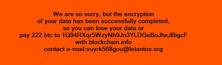 KillDisk Ransomware