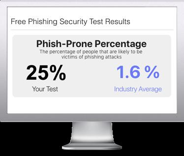 Phishing Security Test Screenshot