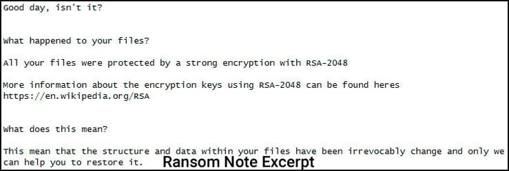 LowLevel04 Ransomnote