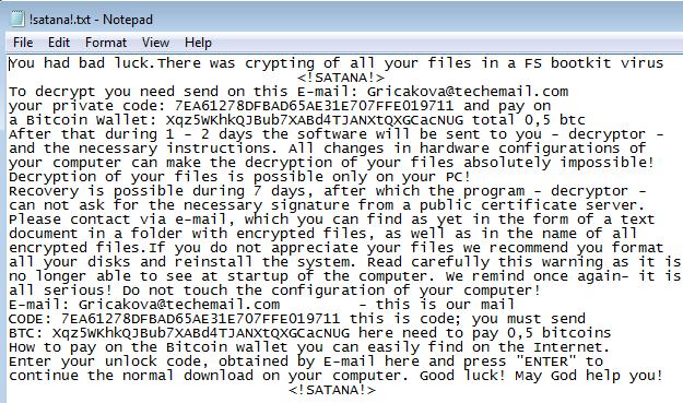 satana-ransomware-notepad