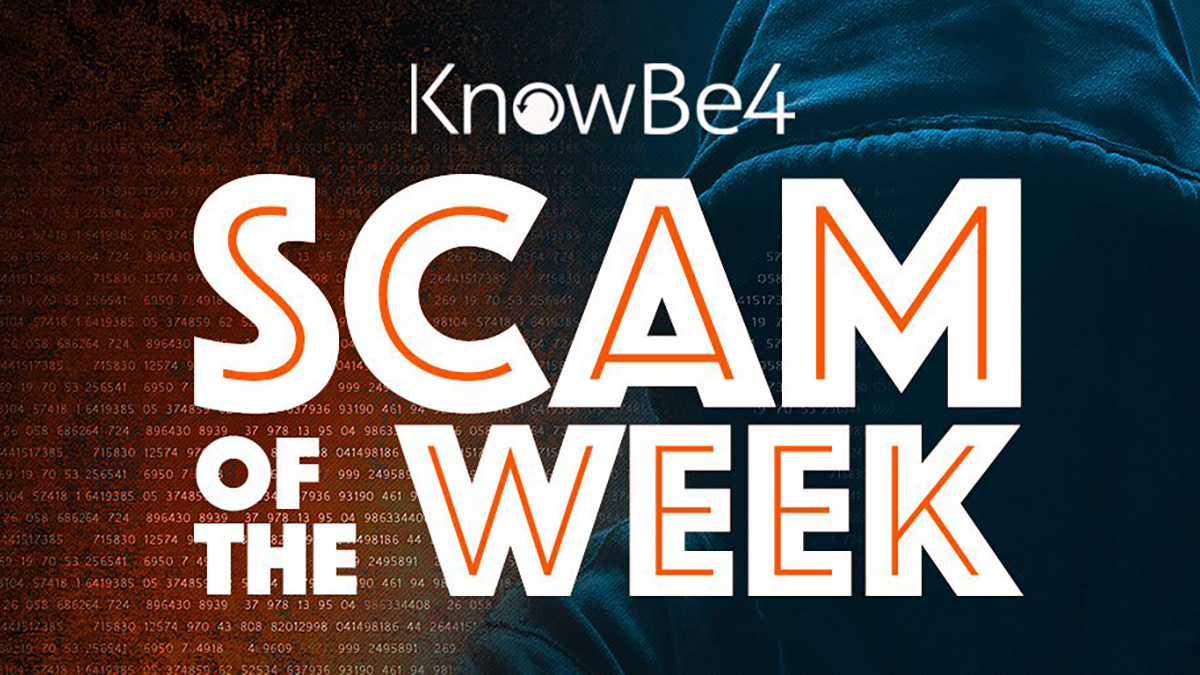 scam_of_the_week-1  - scam of the week 1 - Your Users Need to be Smarter than the Scammers