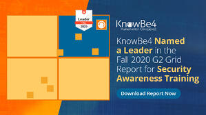 G2 Grid Report Security Awareness Training KnowBe4