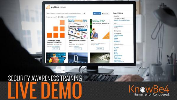 security-awareness-training-live-demo  - LiveDemo 1 - July's Simulated Phishing and Security Awareness Training Live Demo