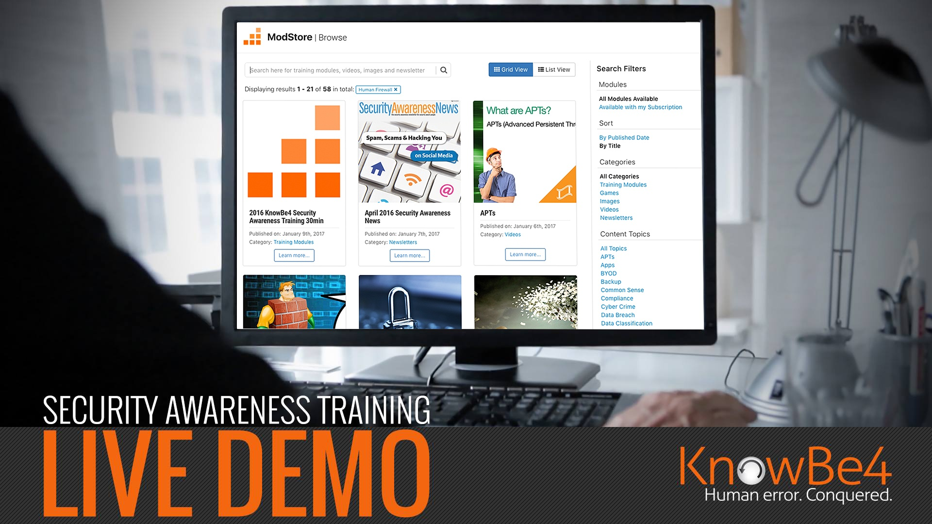 security-awareness-training-live-demo
