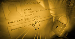 TeslaCrypt Phishing Email Header
