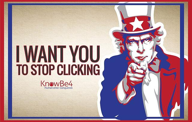 I Want You To Stop Clicking