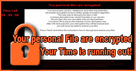 DecryptorMax Ransomware Screen