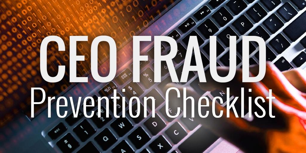 CEO Fraud Checklist