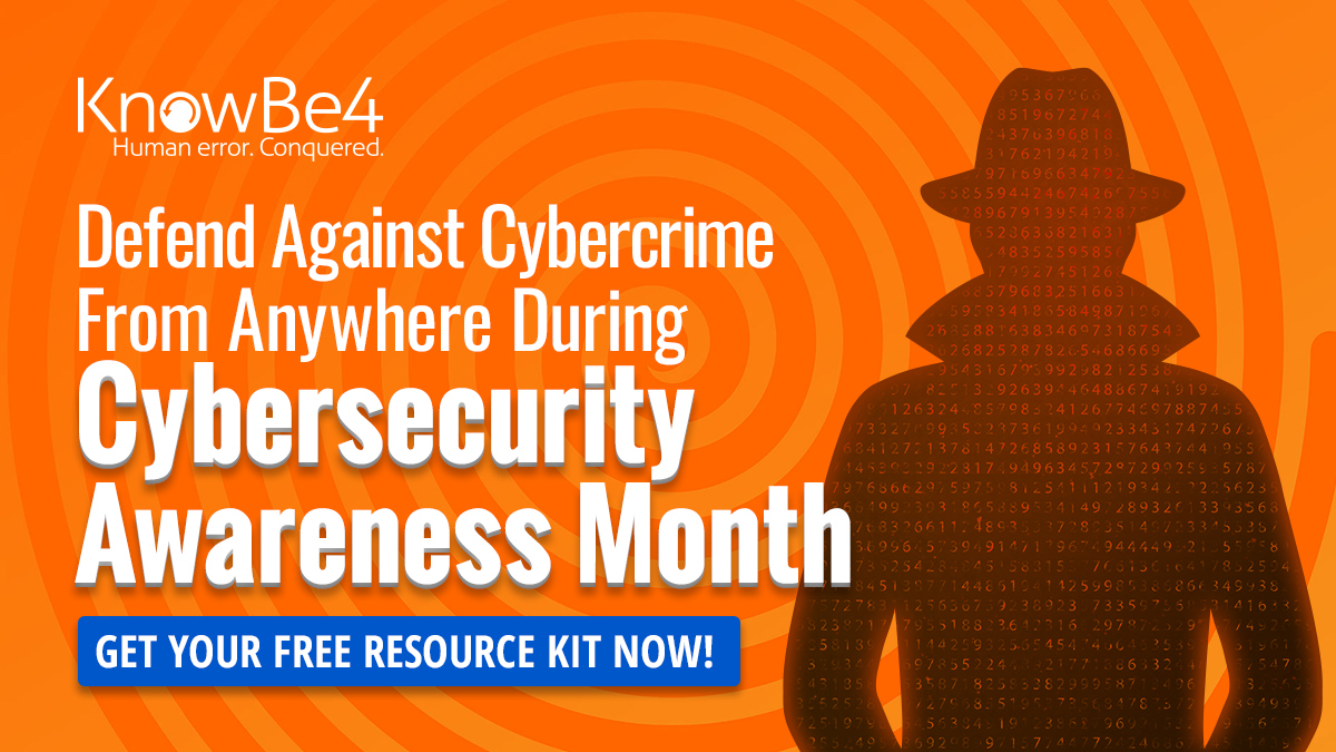 Cybersecurity Awareness Month 2021 Resource Kit KnowBe4