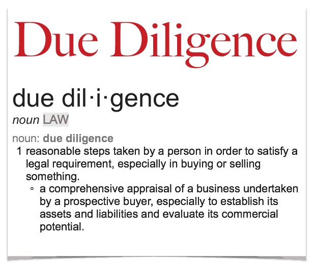 Due-Diligence-Definition