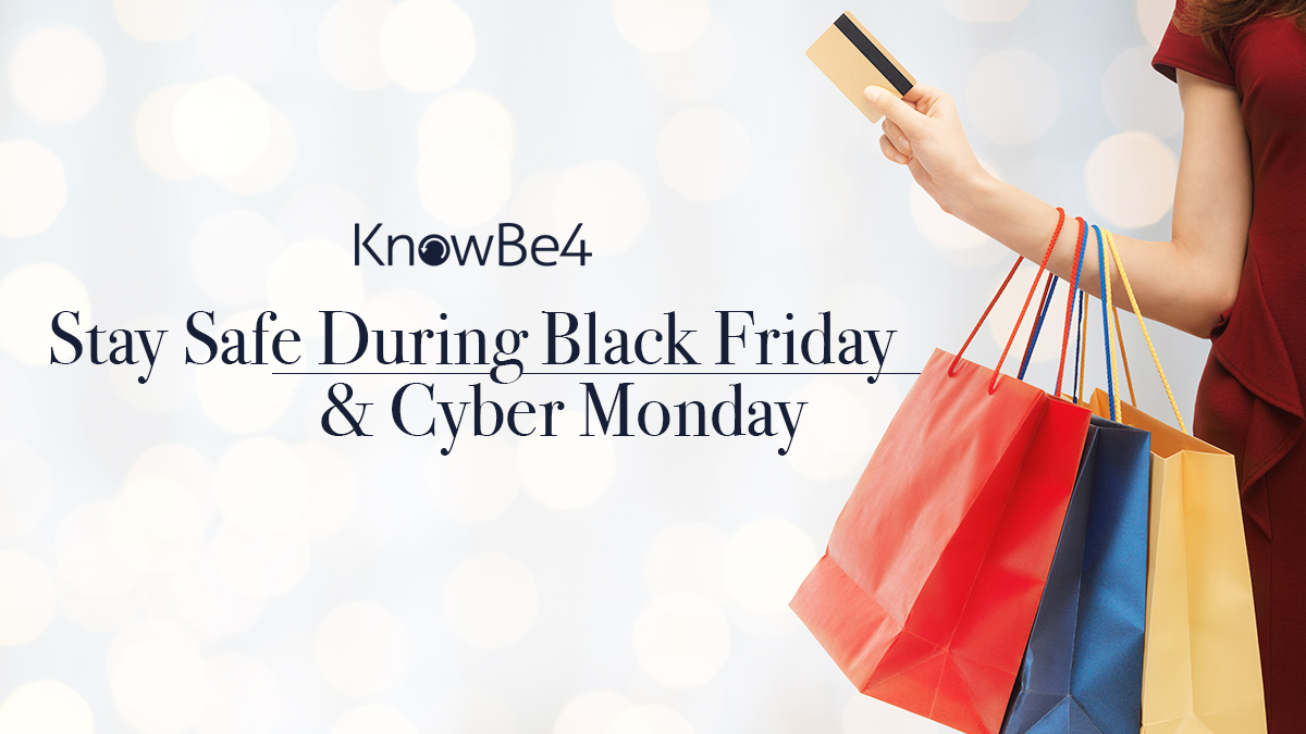 [Scam of the Week] Black Friday & Cyber Monday Top 10 Cybersecurity Tips