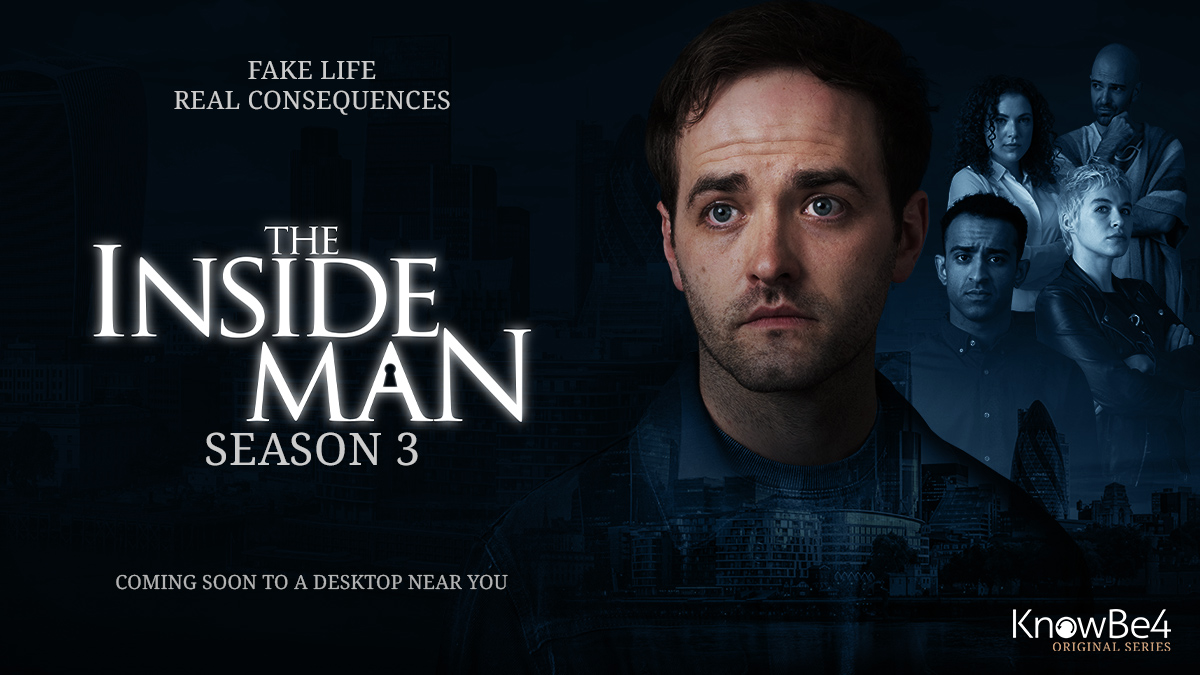KnowBe4 Unveils Official Trailer for 'The Inside Man' Season 3