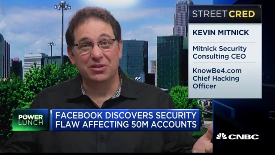Kevin_Mitnick_on_CNBC  - Kevin Mitnick on CNBC - Kevin Mitnick weighs in on Facebook's big security breach
