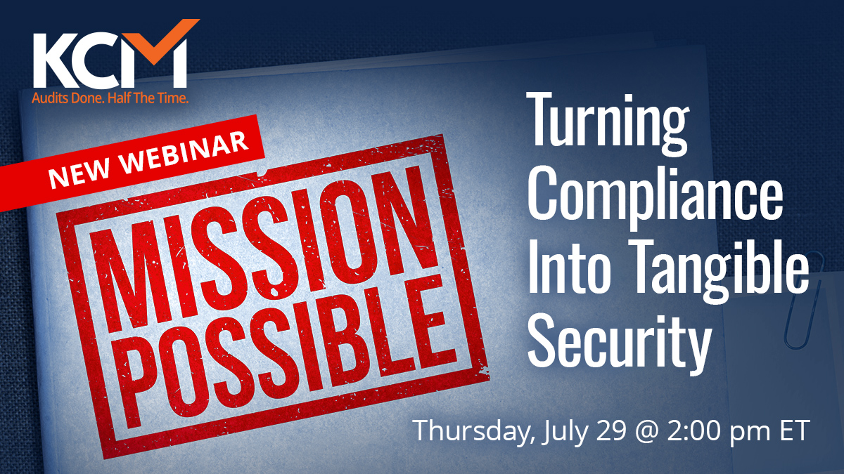 Mission Possible Turning Compliance Into Tangible Security